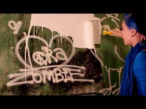 "Lora Zombie ""Blue Bird Lobotomy"" SoHo, NYC Promo Clip"