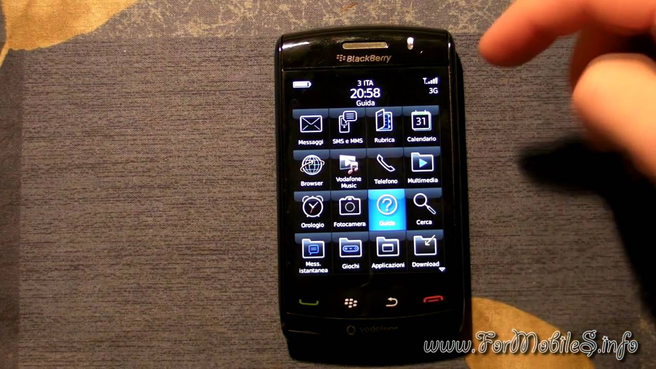 Blackberry storm review.
