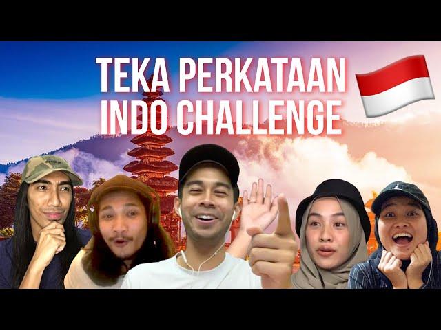 Teka Perkataan Indo Challenge! [OB CHALLENGE]