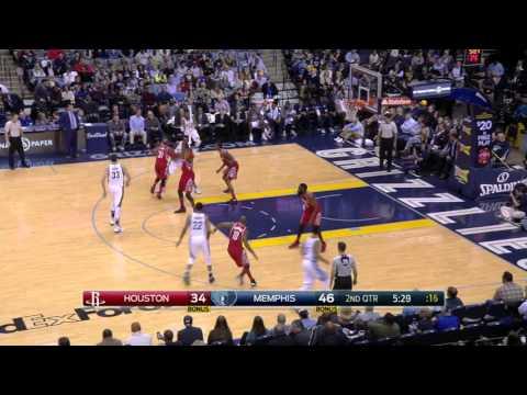 Houston Rockets vs Memphis Grizzlies | November 20, 2015 | NBA 2015-16 Season