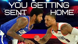 NBA - Portland Trailblazers, Damian Lillard - rips into Patrick Beverley and Paul George