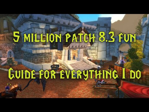 WoW: How I made 5 million in a month - Auction house guide patch 8.3