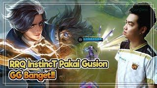 RRQ InstincT Pakai Gusion Galak Banget | Gusion Kill Terbanyak Di Match Ini | Mobile Legends