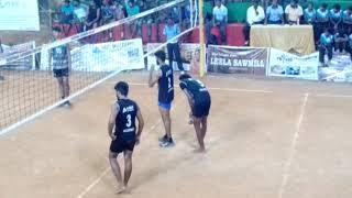 Anbil Foundation Trichy vs Satyabhama university IKSC state level VolleyBall second set.
