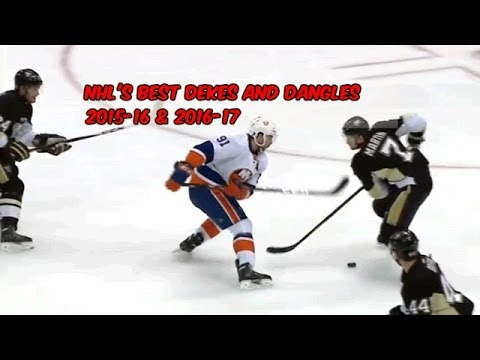 The NHL's Best Dekes And Dangles (2015-16 & 2016-17 Seasons)