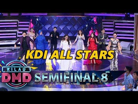 GA BISA BERHENTI GOYANG! KDI ALL STARS [JADILAH BINTANG] - Semifinal Kilau DMD (3/5)