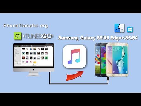 Musik von PC/Mac auf Samsung Galaxy S6 Edge+/S6/S5/S4 übertragen
