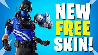 NEW Carbon Commando Skin In Fortnite! - Carbon Commando Skin Showcase Fortnite New Free Skin