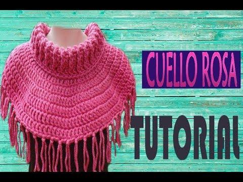 comprar baratas 72620 39f84 CUELLO, BUFANDA FACIL Y RAPIDO A CROCHET
