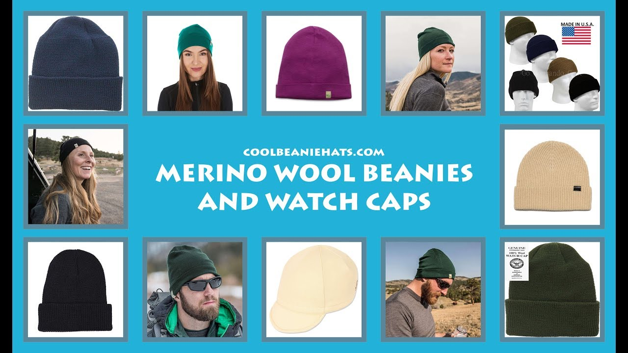 57866457e21 6 Best Merino Wool Beanies And Watch Caps   Made In USA   - YouTube
