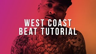 How To Make A West Coast Type Beat From Scratch In FL Studio 12 (DJ Mustard)