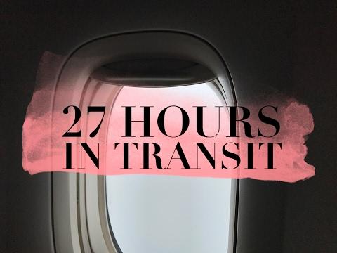 27 HOURS IN TRANSIT | World's Longest Flight ✈️