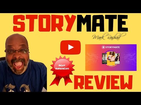 STORYMATE REVIEW   HONEST REVIEW OF STORYMATE. http://bit.ly/2HwwXk6