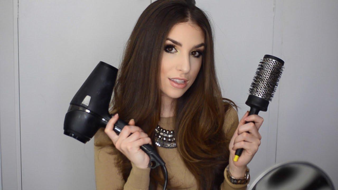 Fotos de peinados con secadora