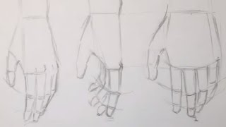 How to Draw Anime Hands (Relaxed and Fist)