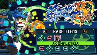 Mighty Gunvolt Burst - GUIDE: Rare & Food Item Locations (Beck)