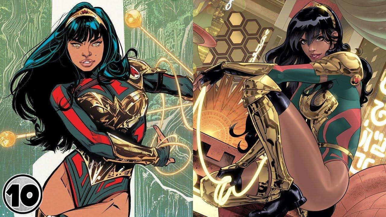 Top 10 New Wonder Woman Yara Flor Facts