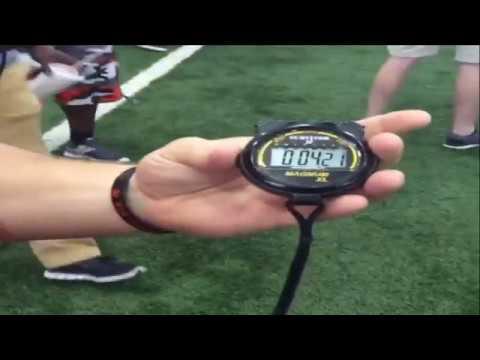 Tyreek Hill UNREAL Olympic Speed 4.21 40 Yard Dash
