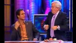 Carlos Pumares y la tortilla de patata