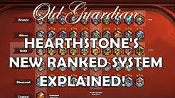 Hearthstone's new ranked system explained!