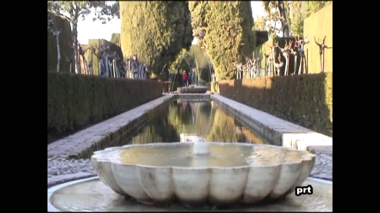 El generalife palacio y jardines granada youtube for Jardines de gomerez granada