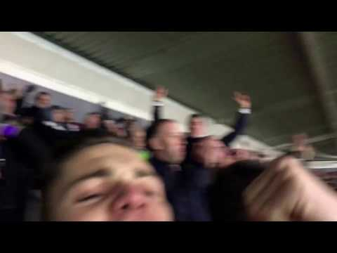 Heung Min Son goal at Southampton away - Tottenham away fans