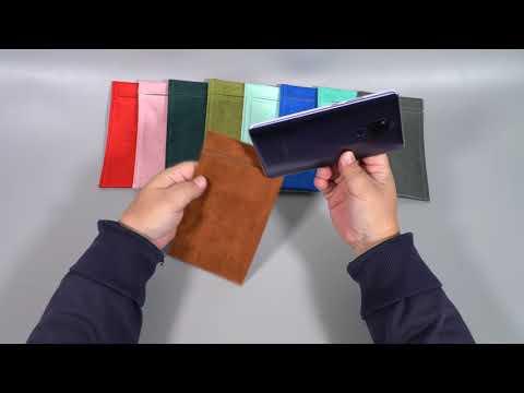 Melkco 2免運雙層絨布套 HTC Desire 20 Pro 6.5吋絨布袋手機袋手機套 粉色 可水洗保護套收納袋