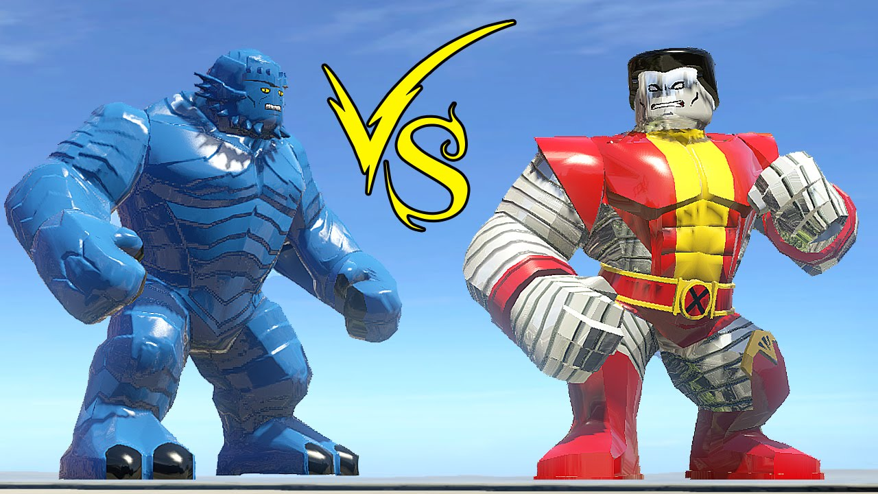 A Bomb (Rick Jones) Vs Colossus - LEGO Marvel Super Heroes ...
