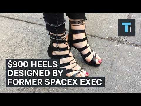 What It's Like To Wear $900 High Heels Designed By A Former SpaceX Exec