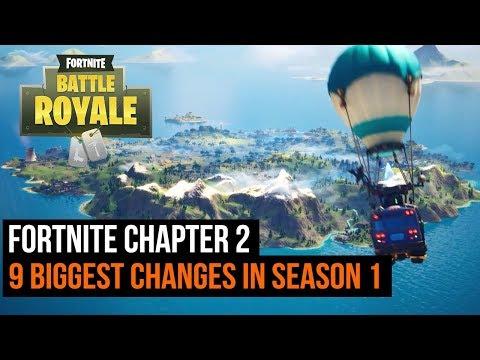 Fortnite Chapter 2 Season 1   9 Biggest Changes