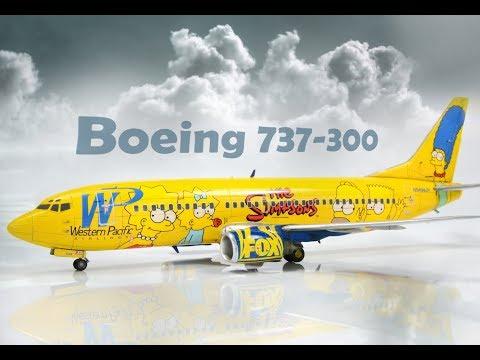 Boeing 737-300 Simpsons Skyline Models DACO 1/144 - Airliner Model
