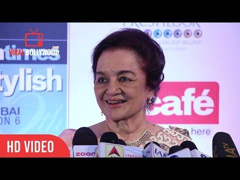 Asha Parekh at HT Most Stylish Awards 2017 | Viralbollywood