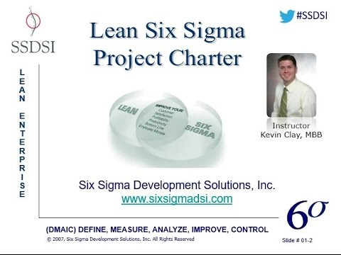 How To Complete The Lean Six Sigma Project Charter