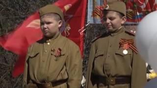 ''Вахта памяти'' - митинг у обелиска павшим воинам  в деревне Ащерино