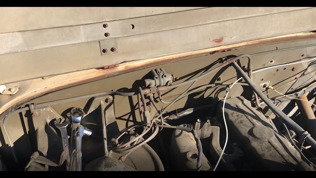 M35A2 and other Military Vehicle Air Governor Adjustment - YouTube on rear drive shaft, rear seat, rear lights, rear body harness,