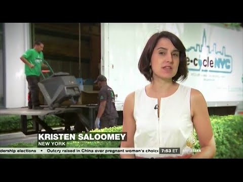Al Jazeera America - Tackling E-Waste