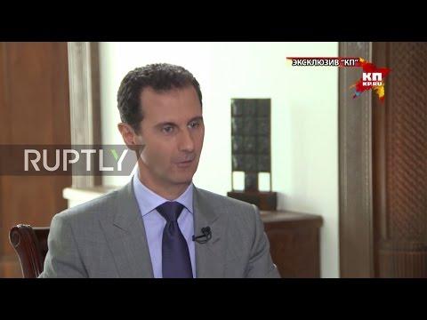 Syria: US is using Syrian war to maintain international 'hegemony' – Assad