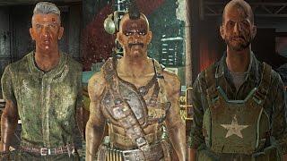 Fallout 4: CAPTAIN WES, CRUZ & RYDER! (Gunner Plaza, VERY HARD)