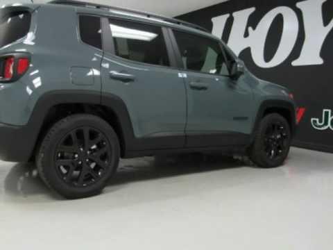 2017 Jeep Renegade Latitude New Anvil Gray Suv For Sale