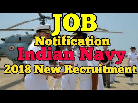 How to Indian Navy job notification 2018 new recruitment.../bangla/