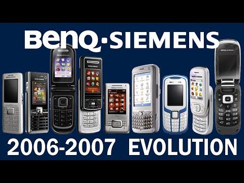 BenQ-Siemens Phone Evolution 2006-2007