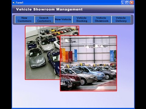 Vehicle Show Room Management System Visual Basic 6 0 Project - YouTube