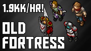[Tibia Where to Hunt – MS/ED 100+] Old Fortress (1.9kk/hr @ 270!)