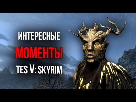 Skyrim ИНТЕРЕСНЫЕ МОМЕНТЫ И СЕКРЕТЫ TES V: СКАЙРИМ