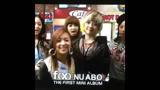 2010년 '에프엑스'의 첫번째 미니 앨범 'NU ABO' 스마트폰 앨범 애플리케이션