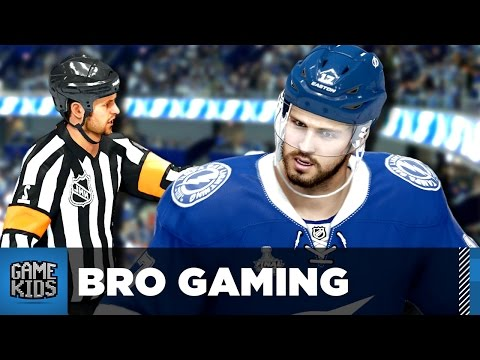 NHL 16 Let's Play - Bro Gaming