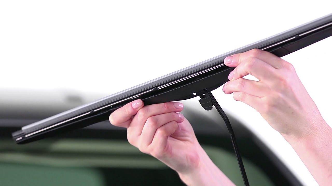 Rain X Expert Fit Hybrid Wiper Blade Installation Small J M5