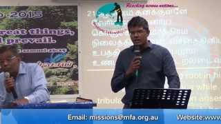 Growing from one level to another by Bro Augustine Jebakumar