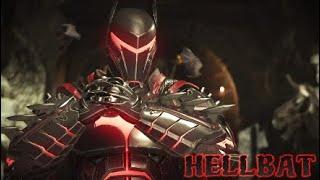 Injustice 2 HELLBAT Bat Suit Batman Vs Darkseid