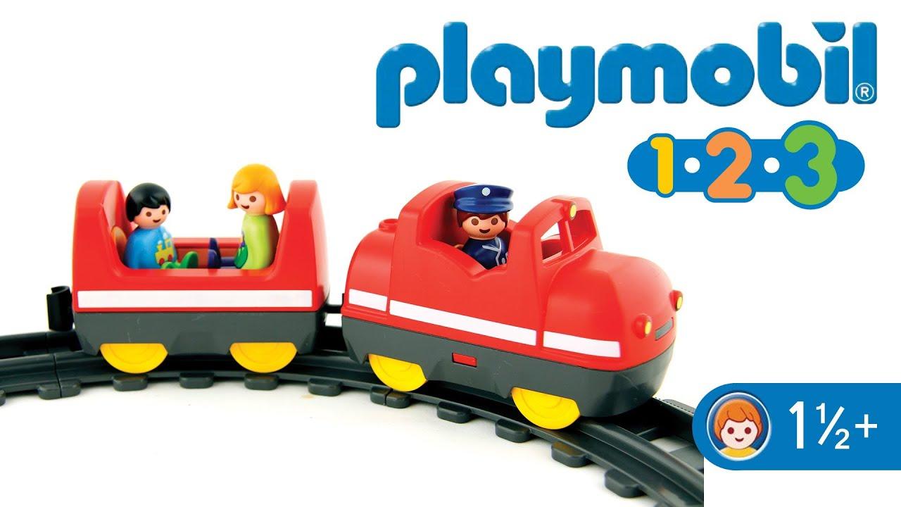 Playmobil 123 6783 my take along train youtube - Train playmobil ...